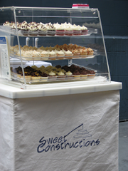 Sweet Constructions Cookie Cart at a San Francisco Event