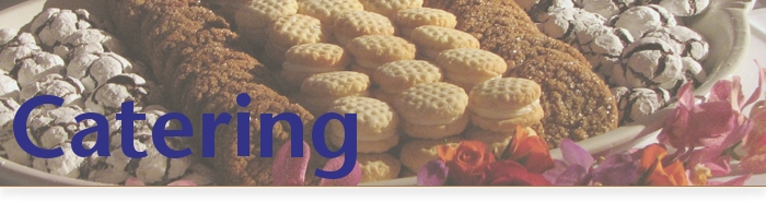 Cookie Catering Page Title
